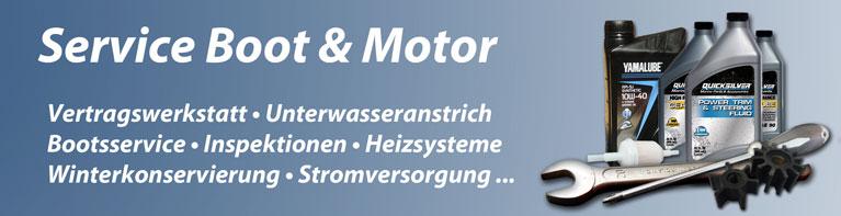 Service - Boot & Motor